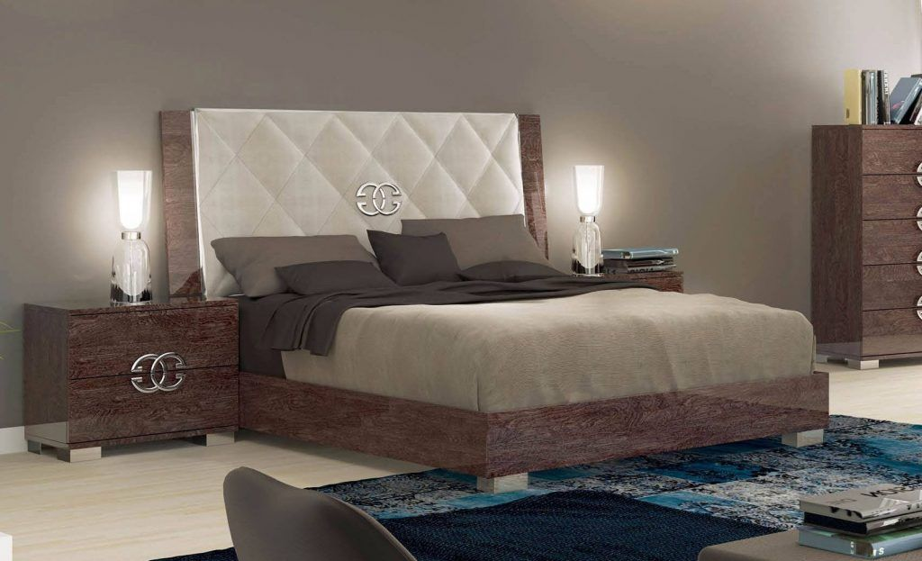 High End Bedroom Sets Made In Italy Elegant Leather High End