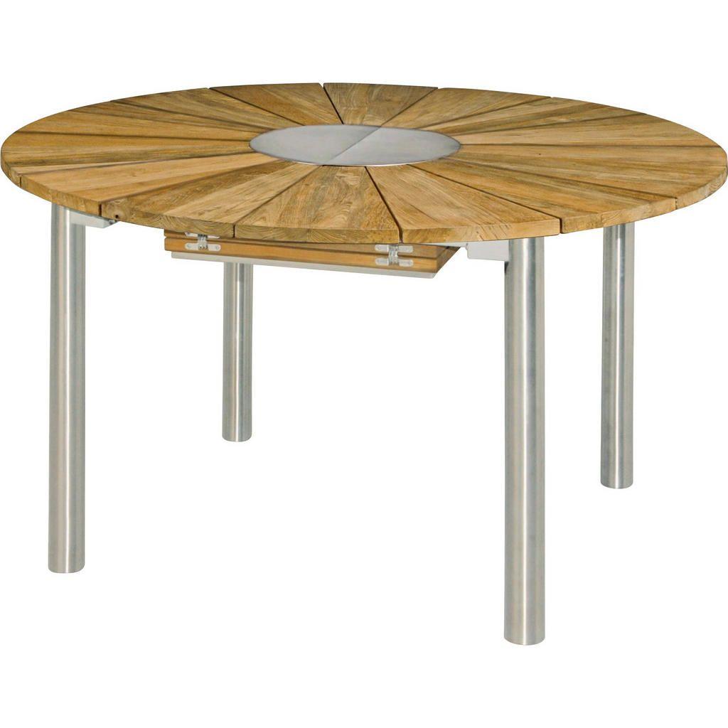 MALAGA Esstisch Tisch Massivholztisch Holz Metall Akazie