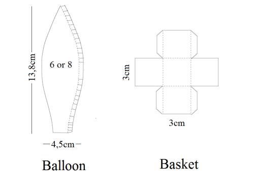 Hot air balloon template   baby\'s 1st   Pinterest   Air balloon, Hot ...