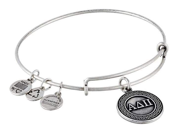 Alpha Delta Pi Charm Bangle Bracelet Sorority /'A D Pi/'