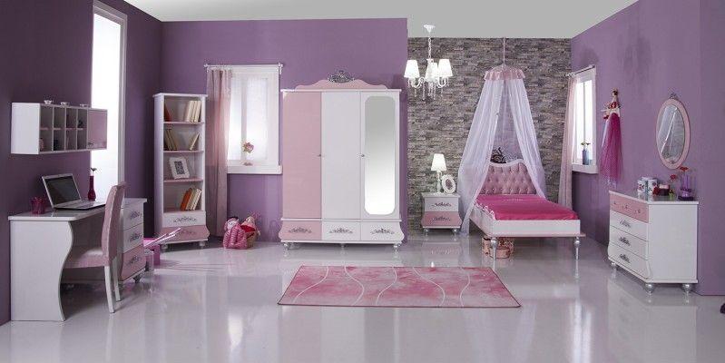 10abd7b828a Παιδικό Δωμάτιο Princess Pink Παιδικά Δωμάτια, Δωμάτια Σε Εστίες,  Υπνοδωμάτιο, Κορίτσια