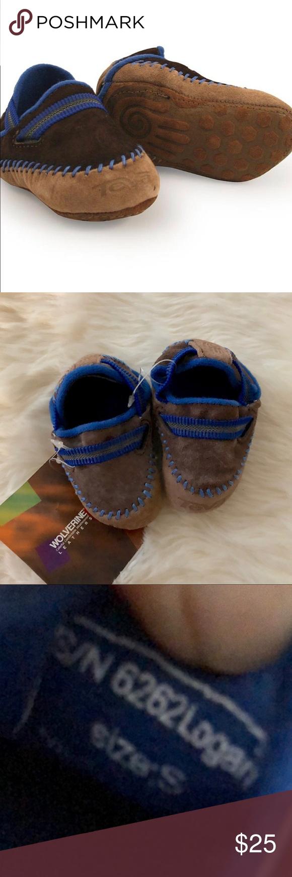 1823ad33724f NWT Teva Infant Logan Crib Shoe  sz S (0-6M) Itty bitty