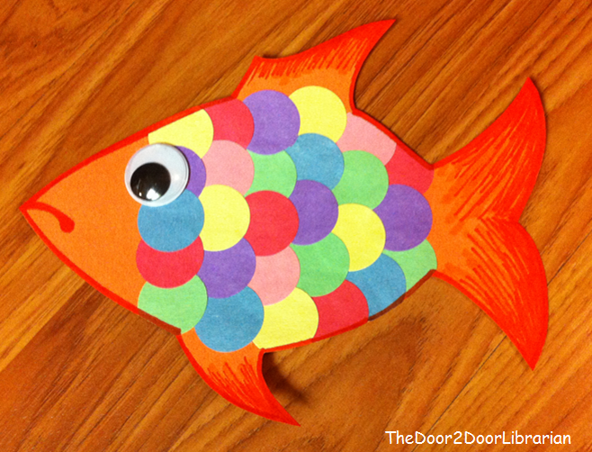 Construction paper fish crafts google search crafts for Fish crafts for preschoolers