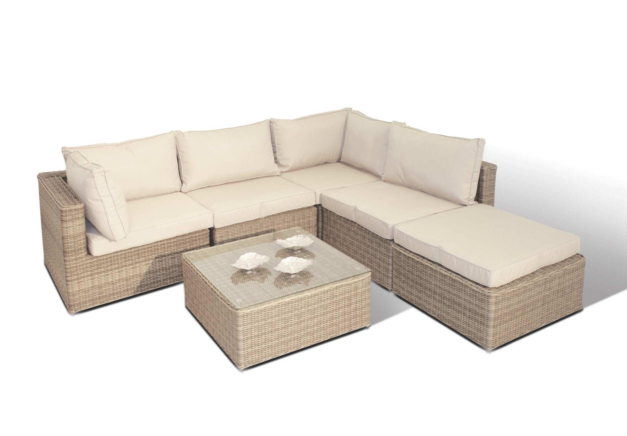square corner group ascot rattan effect garden furniture furniture village - Furniture Village Garden Furniture