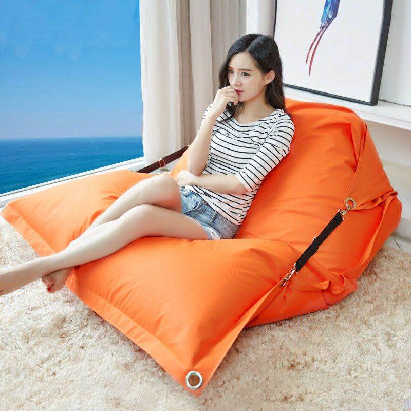 Bean Bag Folding Chair Simple Modern Double Waterproof Cloth Oxford Lazy Sofa Bed Tatami Bed With Images Bean Bag Chair Sofa Bean Bag Sofa Bean Bag Chair
