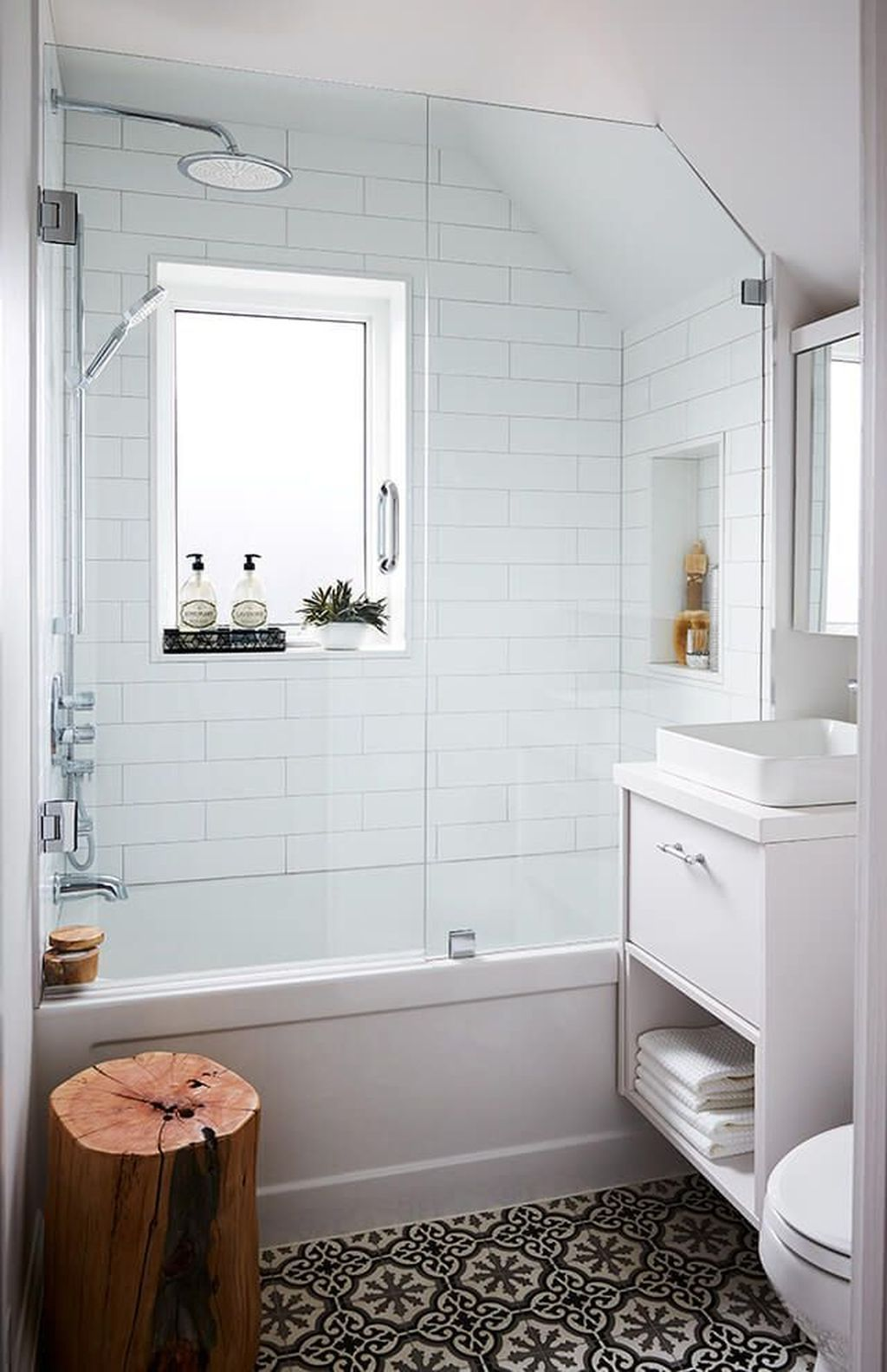 awesome 42 gorgeous cottage bathroom design ideas more at on bathroom renovation ideas id=68619
