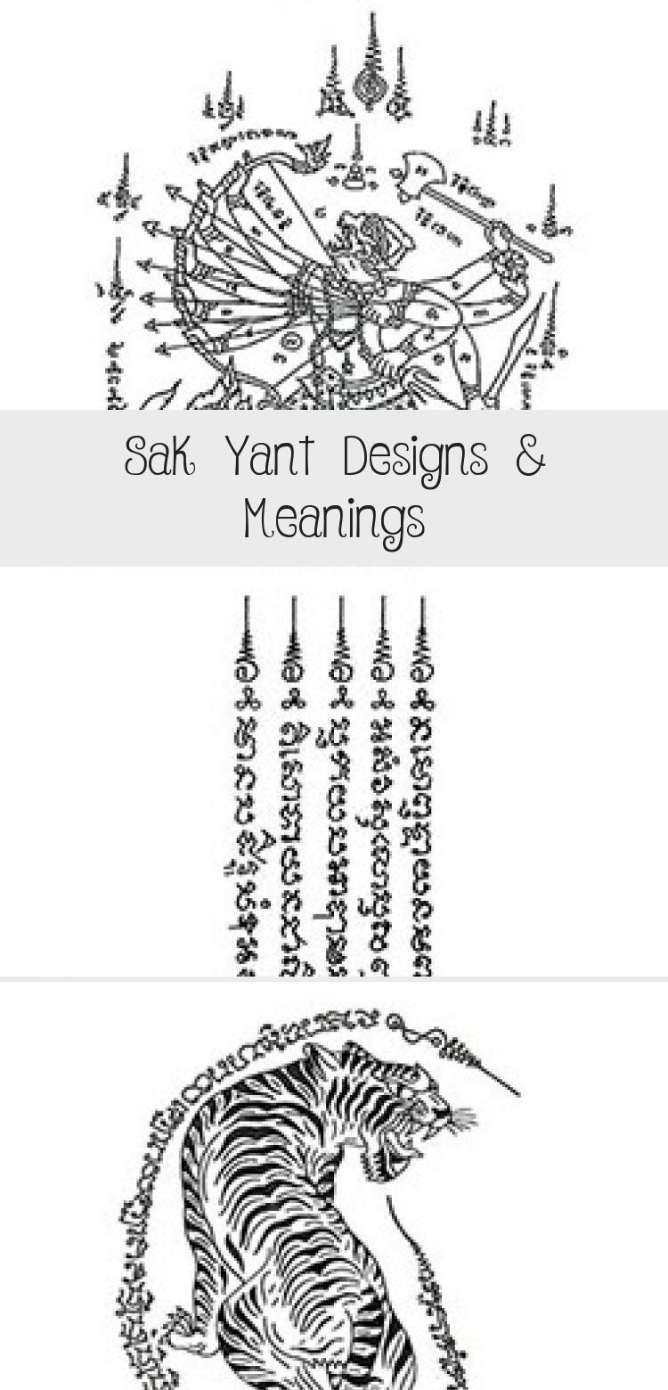 Henna Tattoo In Bangkok: Sak Yant Designs & Meanings In 2020