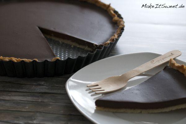 Tarte au chocolat Schoko Schokotarte Rezept Schokokuchen