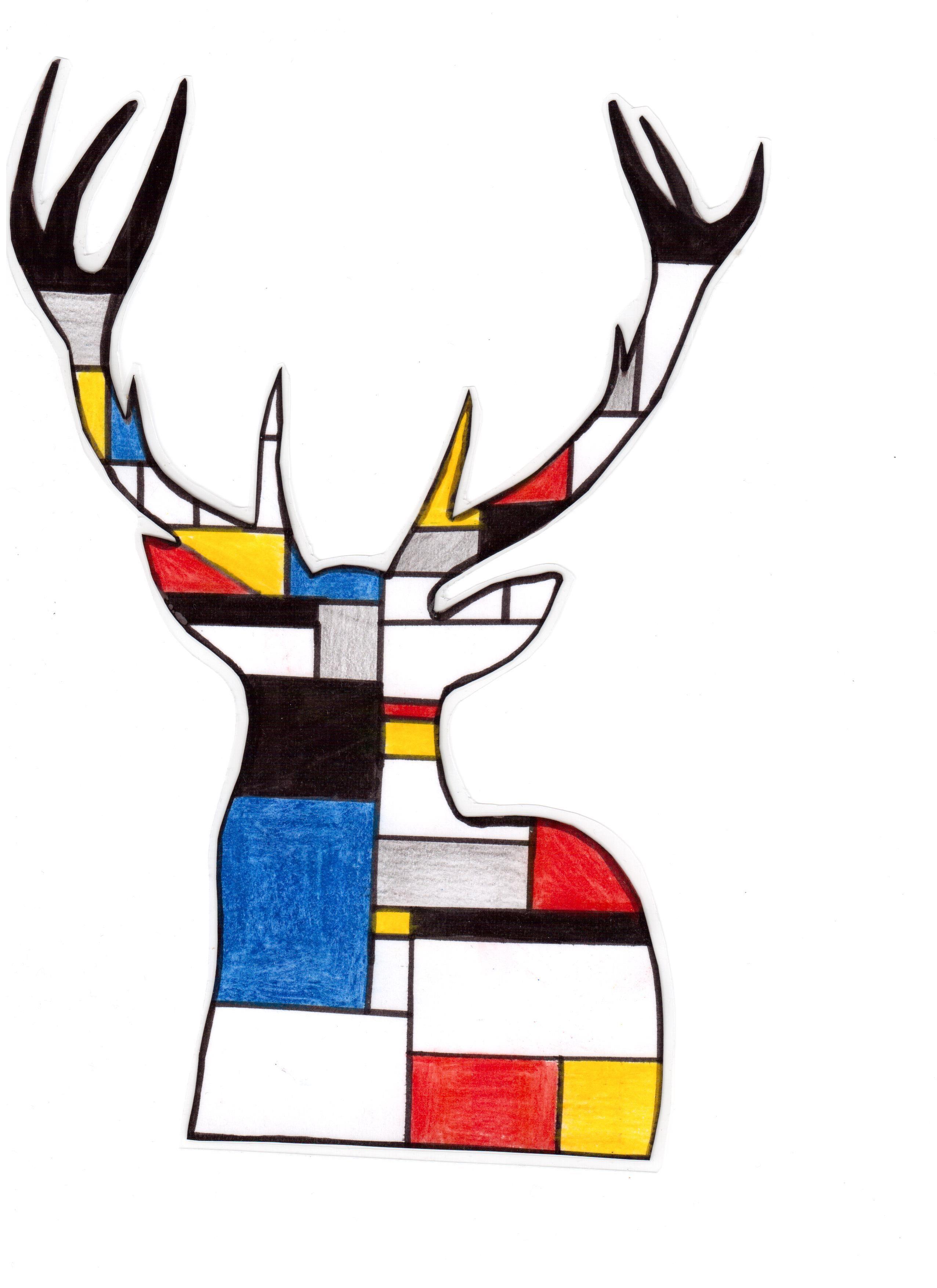 Piet Mondrian Im Kunstunterricht Mondrian Kunst Kunst Grundschule Kunst Tapete