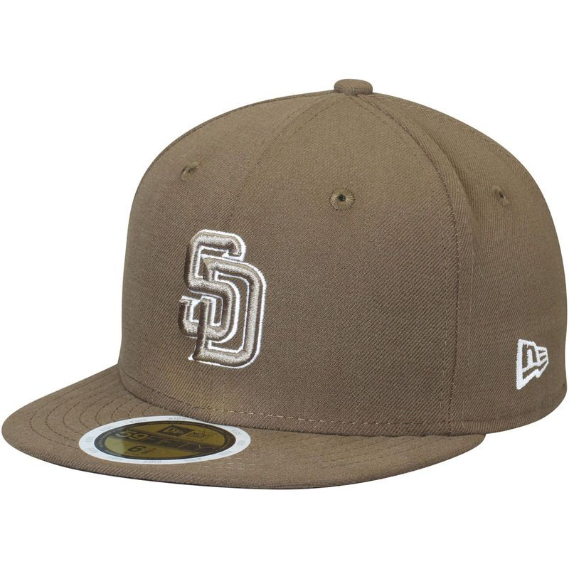 buy popular 070dc 3457b San Diego Padres New Era Youth Authentic Collection On-Field Alternate 59FIFTY  Fitted Hat - Brown