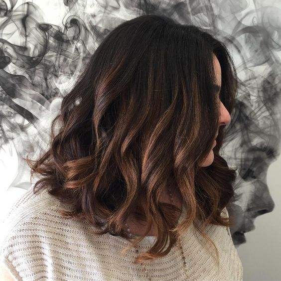 Dark Brown Hair Color Ideas With Highlights Dark Brown Hair Color Brown Hair Colors Brown Hair Balayage