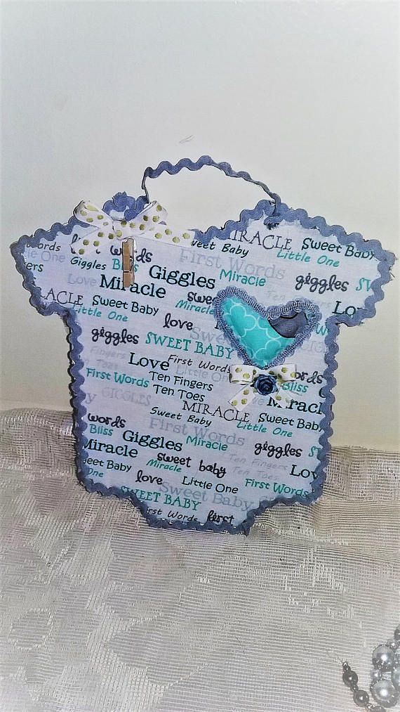 Quilted Baby Boy Picture Photo Frame Baby Boy Decor Baby Boy Gift ...