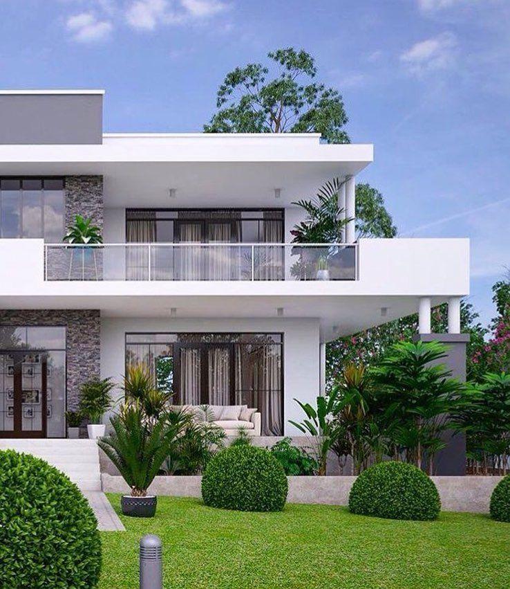 Scoprili con il nostro configuratore online! Buongiorno Signori Un 39 Altra Straordinaria Ispirazione Residenziale Per Te E Li Rend Buon Bungalow House Design Modern House Exterior Facade House