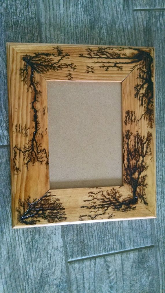 woodburning microwave fractal lichtenberg figure wood burning picture by utcraftboy