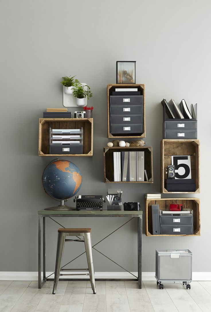 Combine modern function with vintage aesthetic in our Like-it® Modular System!