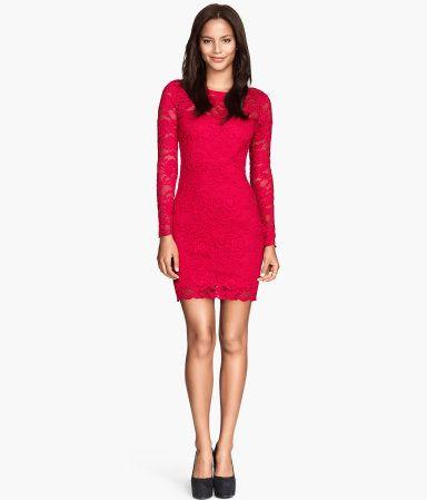 H&M Vestido de renda 24,99 €