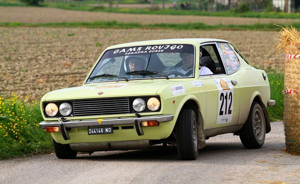 Fiat 128 Sport Coupe Rally