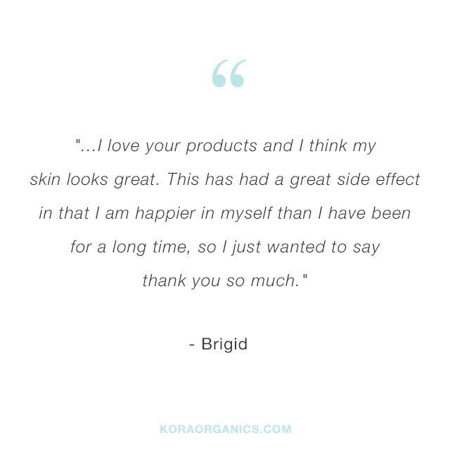 Our Kora Organics Friend Kristen Shares Her New Found Confidence