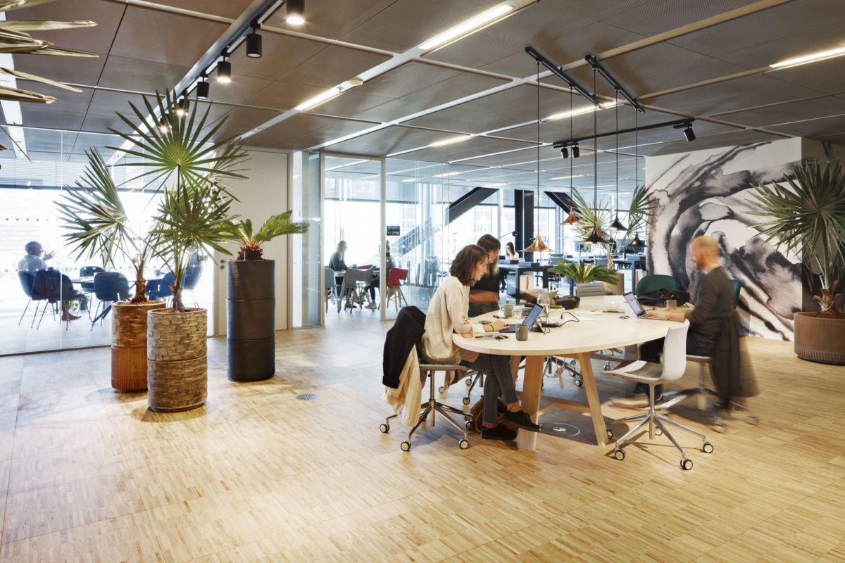 BLOXHUB Coworking Offices Copenhagen Office Snapshots
