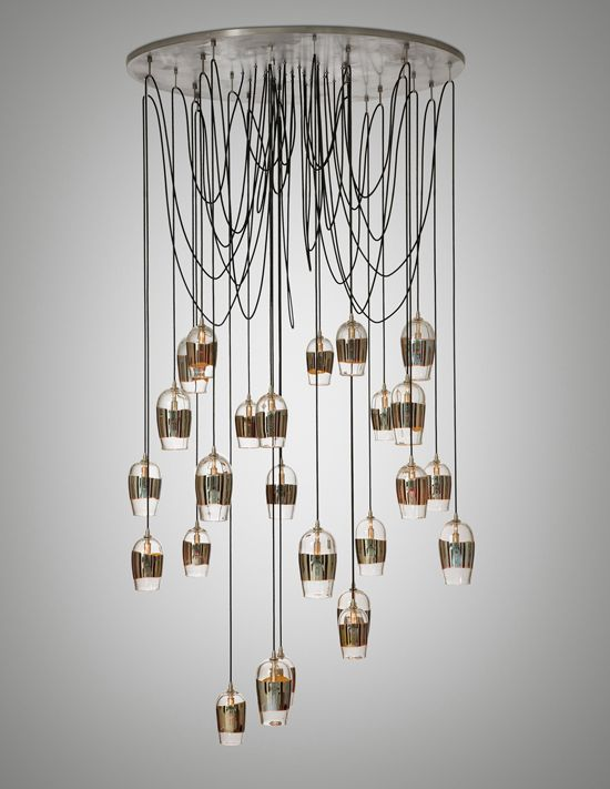 17 Best images about Chandeliers – Wire Chandeliers