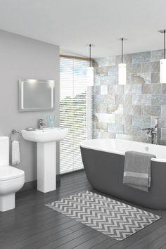 Bon 20 Wonderful Grey Bathroom Ideas With Furniture To Insipire You
