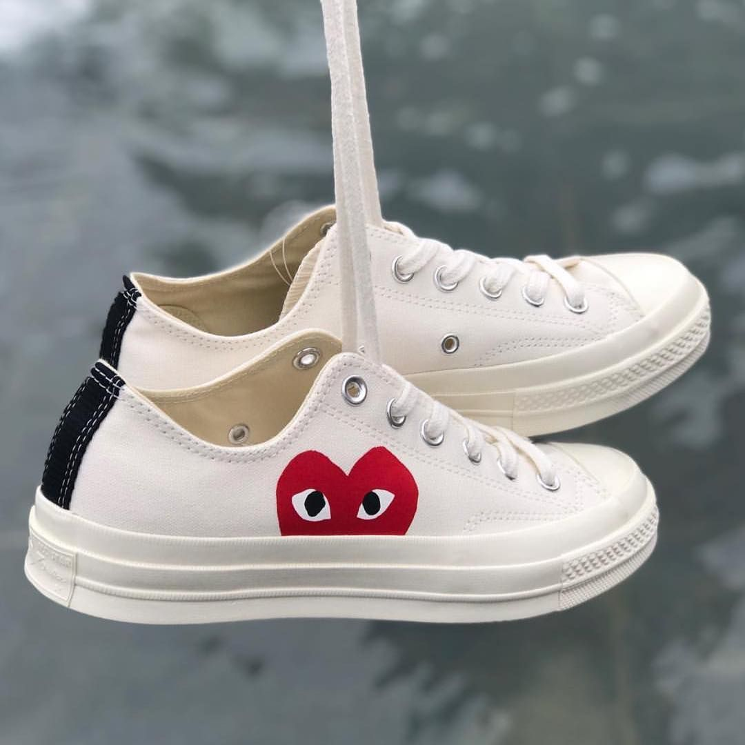 Pin by lil yung blud b on steppin in 2019 | Cdg converse