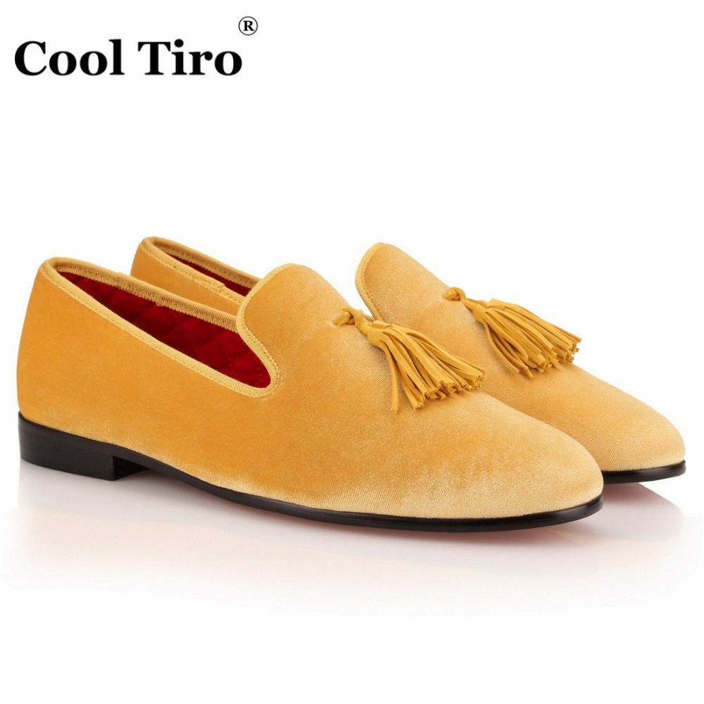 445875a8ff5 Pink Men Velvet Shoes Slip Slippers Prom and Wedding Men s Dress ...