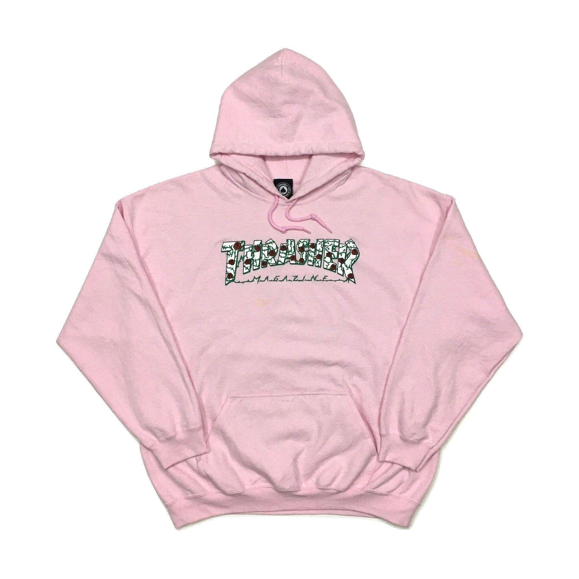 Vintage Thrasher Rose Hoodie Thrasher Roses Pink Hoodie Etsy Rose Hoodie Hoodies Thrasher Sweatshirt [ 2000 x 2000 Pixel ]