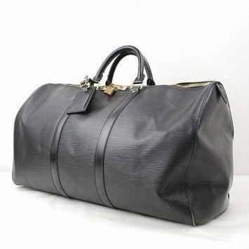 Louis Vuitton Boston Keepall50 Epi Leather Vi0995-ebds0495 Black Travel Bag. c1982e321f078