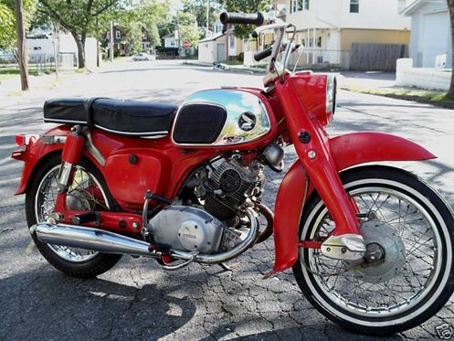 1966 Honda Benly 125 Cc Vintage Honda Motorcycles Classic Motorcycles Honda