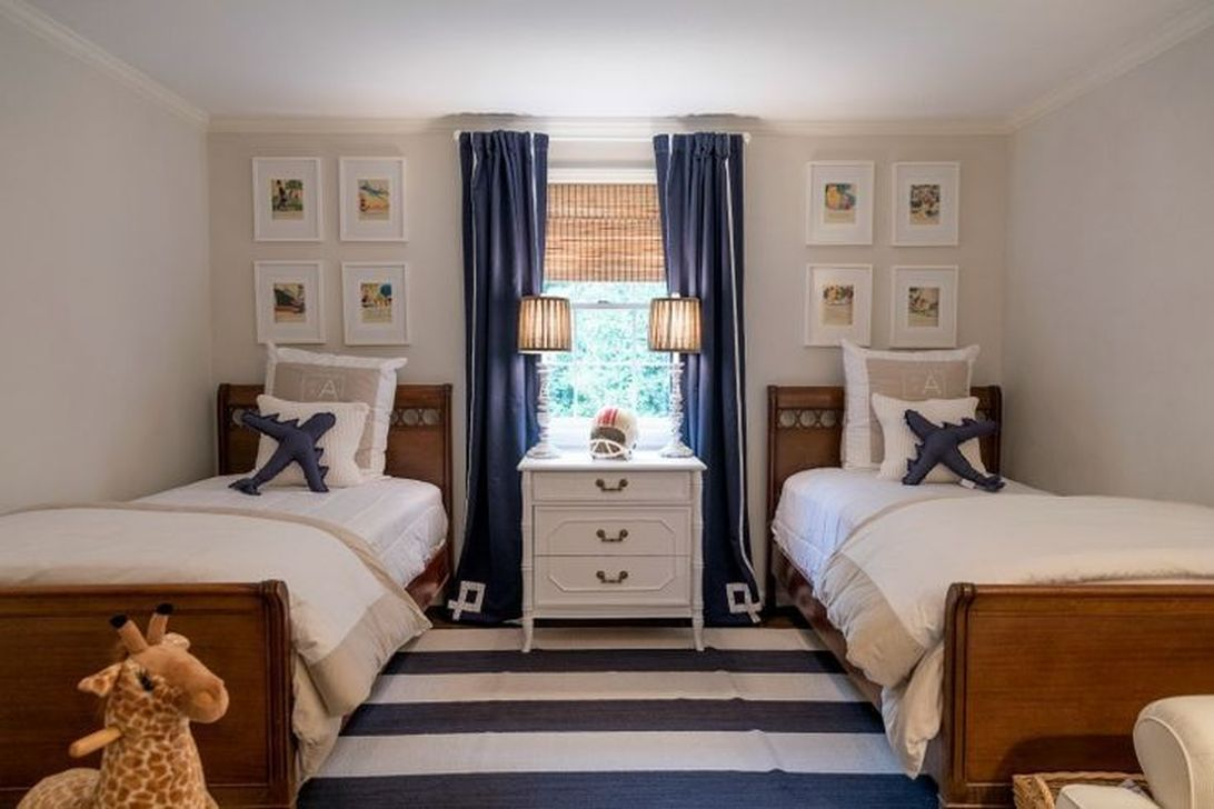 Gorgeous Twin Bed For Kid Ideas   Boys shared bedroom ...
