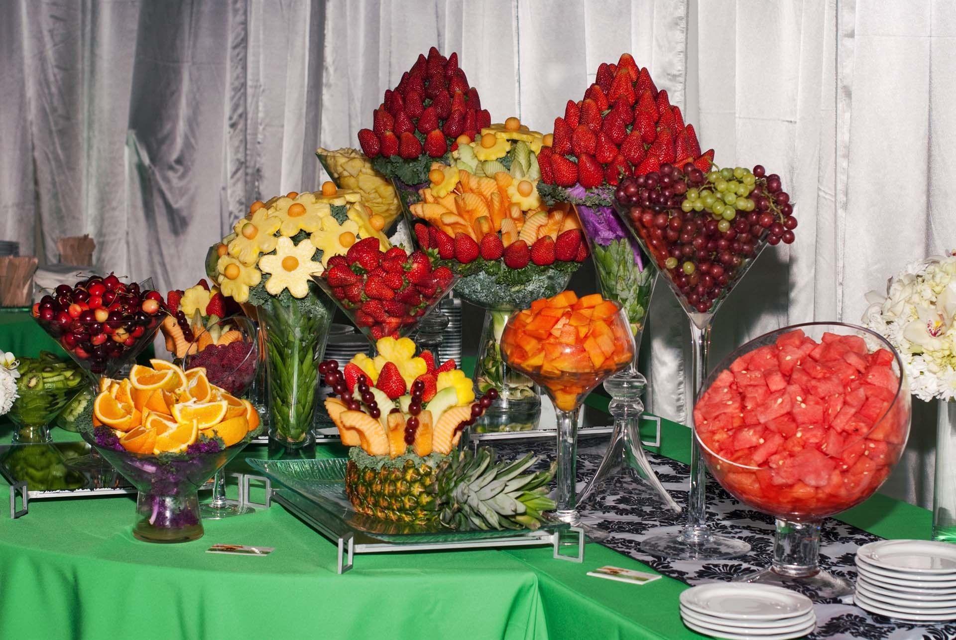 Fruit Buffet Is A Really Cool Idea Fruit Buffet Fruit Displays