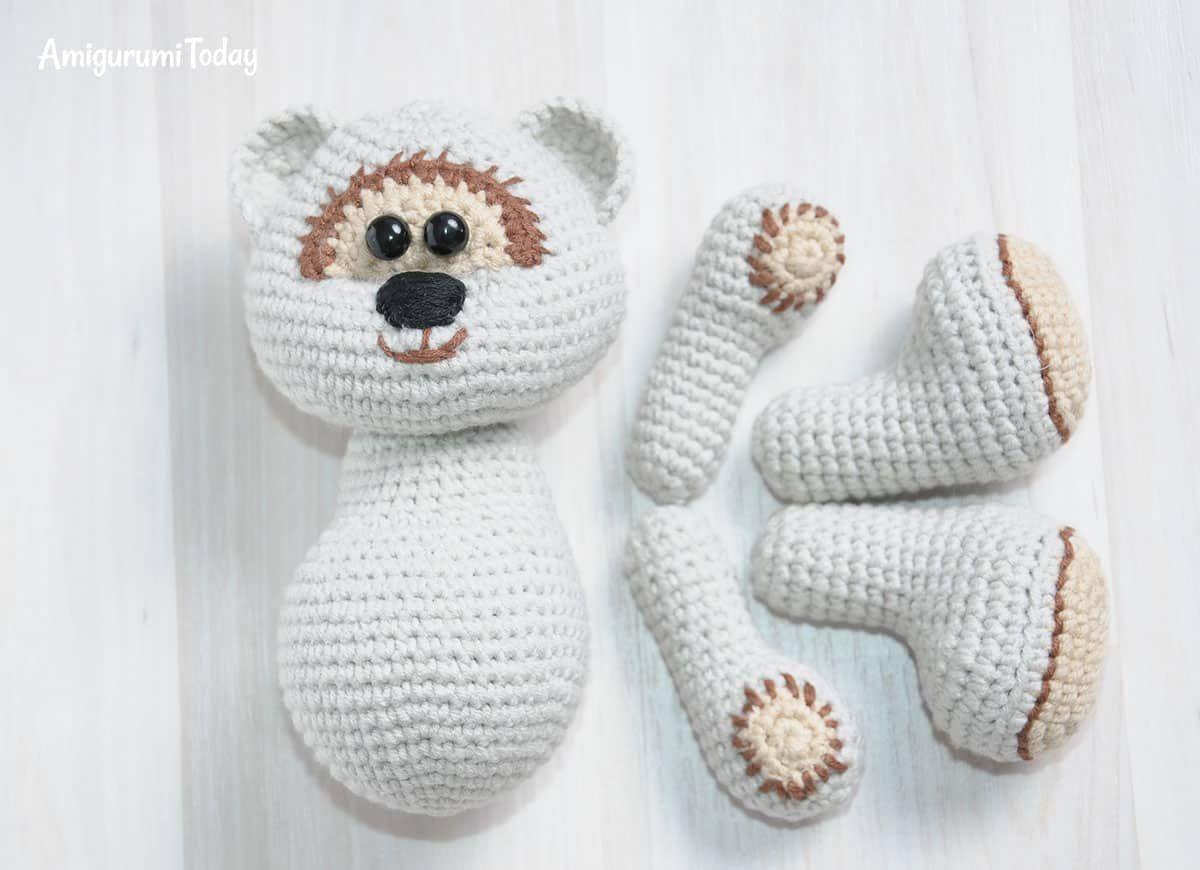 Chica de oso de peluche de miel | amigurumis | Pinterest | Miel ...