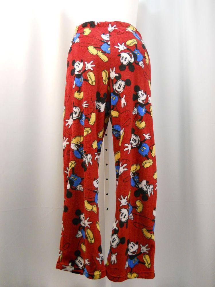 Disney Mickey Mouse Fleece PJ Bottoms Lounge Sleepwear Size XXL (20)  Disney   LoungePantsPJBottoms 591bda992