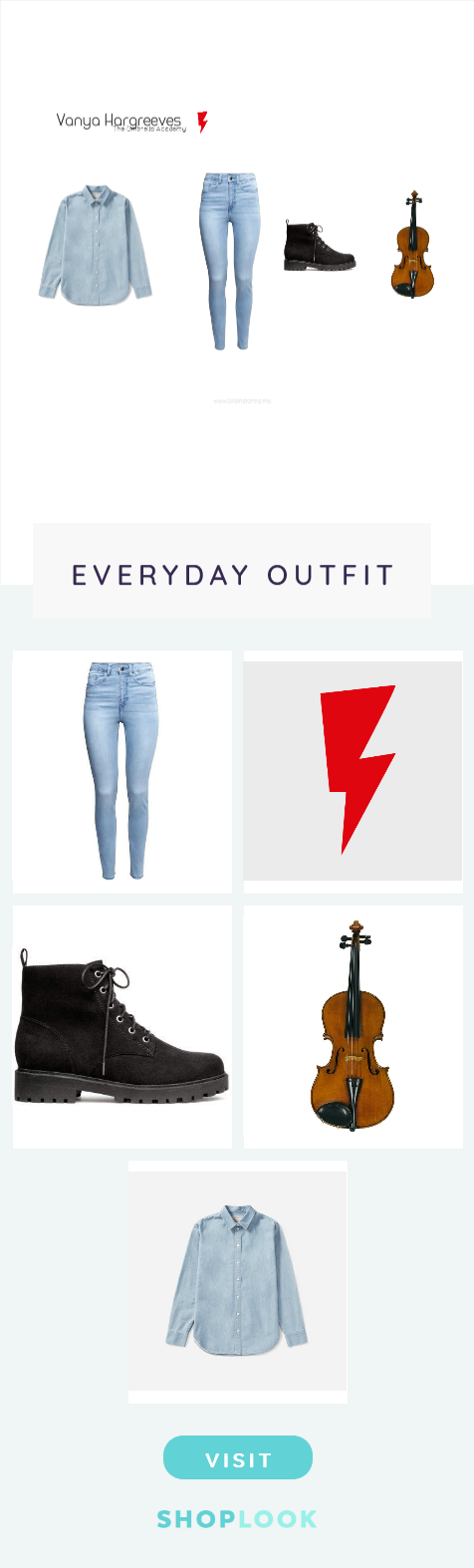 Vanya Hargreeves Cosplay Everyday Outfits Outfits Fashion