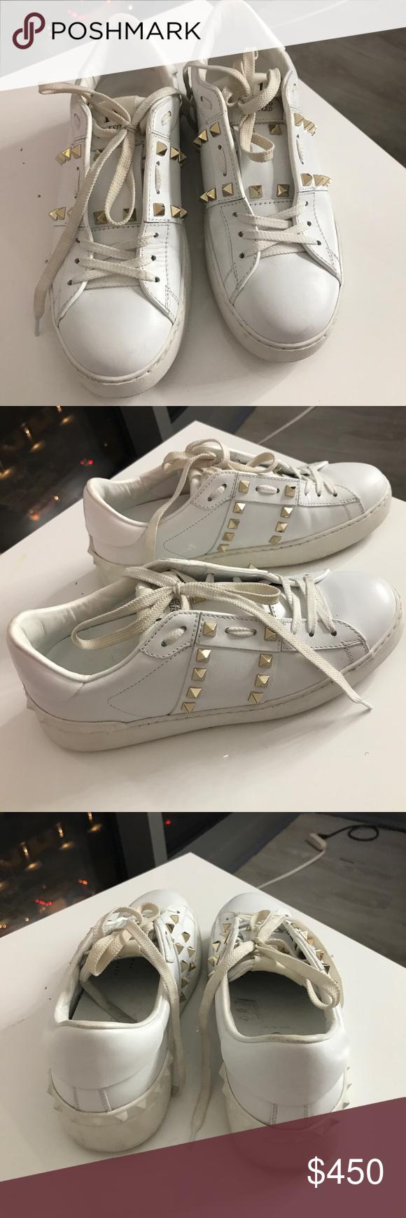Valentino rockstud sneakers   Valentino