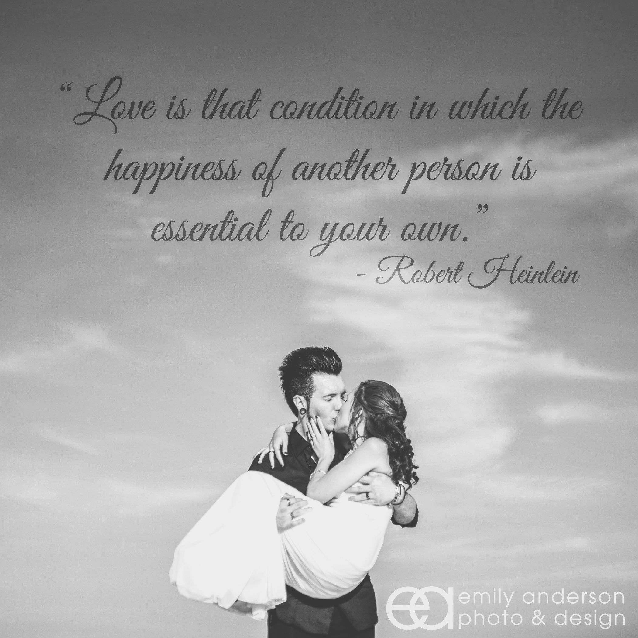 Quote About Love Overlaid On Wedding Photo 3 Photography Ideas