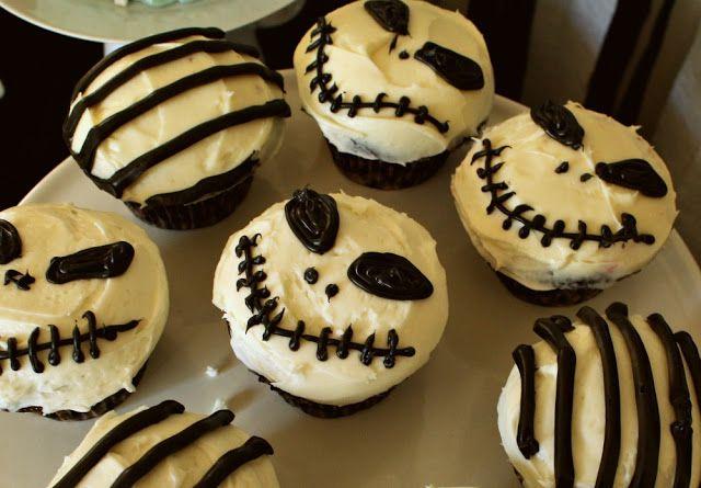 cupcakes jack Halloween Crafts and Decor Pinterest Tim burton - tim burton halloween decorations