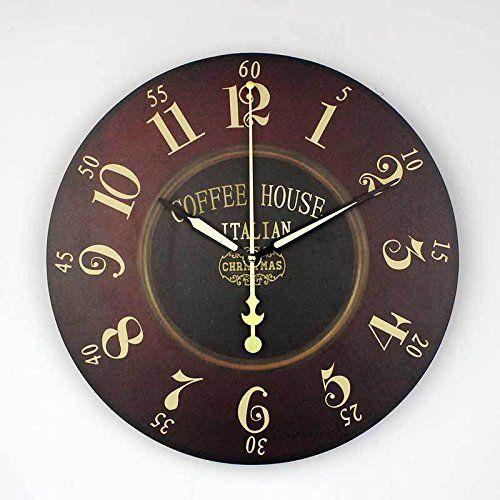 Marvelous Living Room Wall Decoration Quartz Watch Fashion Waterproof Clock Face Home  Decor    Be Sure