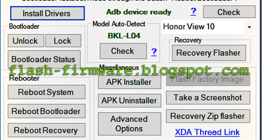 DownloadAndroid All In One Official Tool Feature: Install Driver
