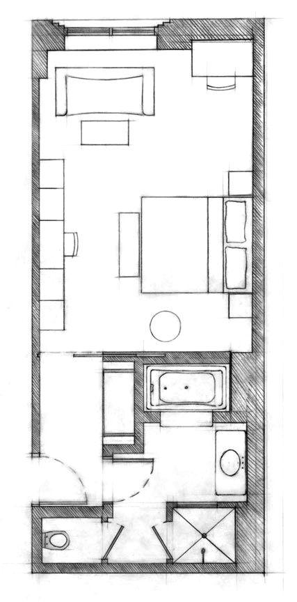 The Greenwich Hotel Hotel Floor Plan Boutique Hotel Room Hotel Suite Floor Plan