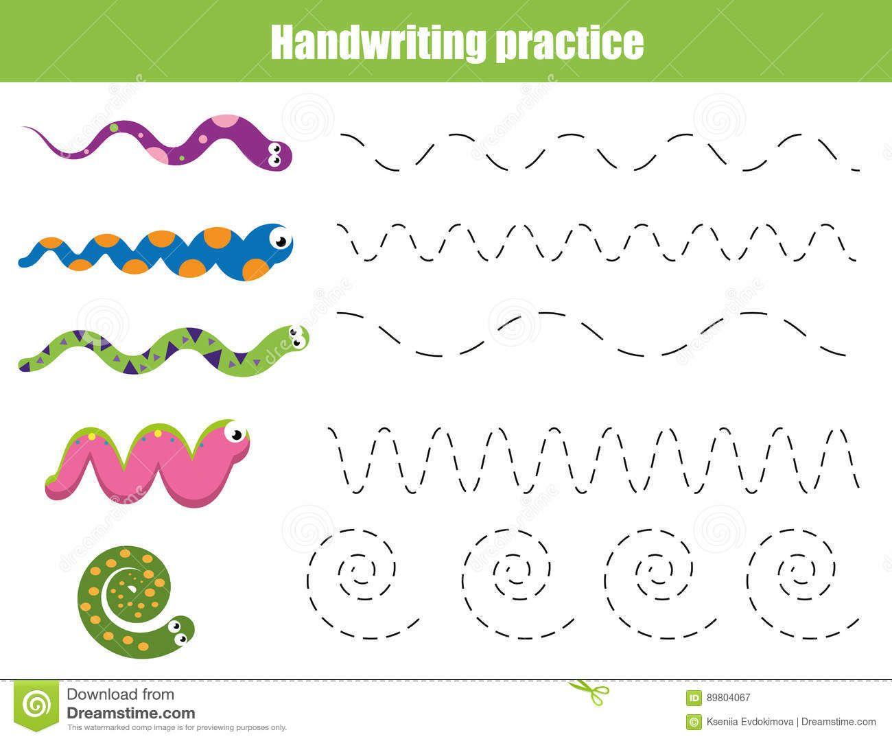 Resultado de imagen para hojas de trabajo para niños de las lineas ...