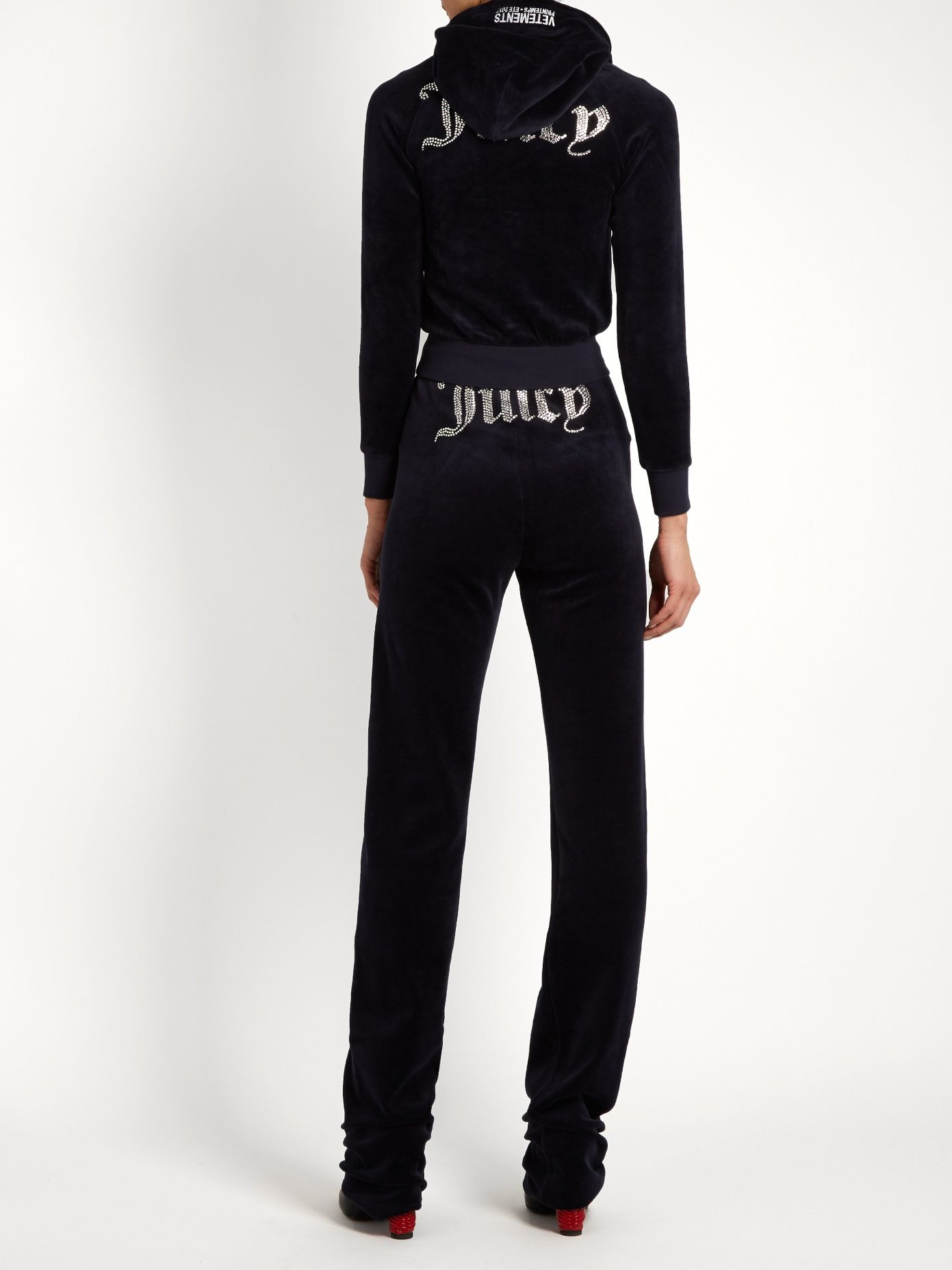 335496d75dd909 Click here to buy Vetements X Juicy Couture velour track pants at  MATCHESFASHION.COM