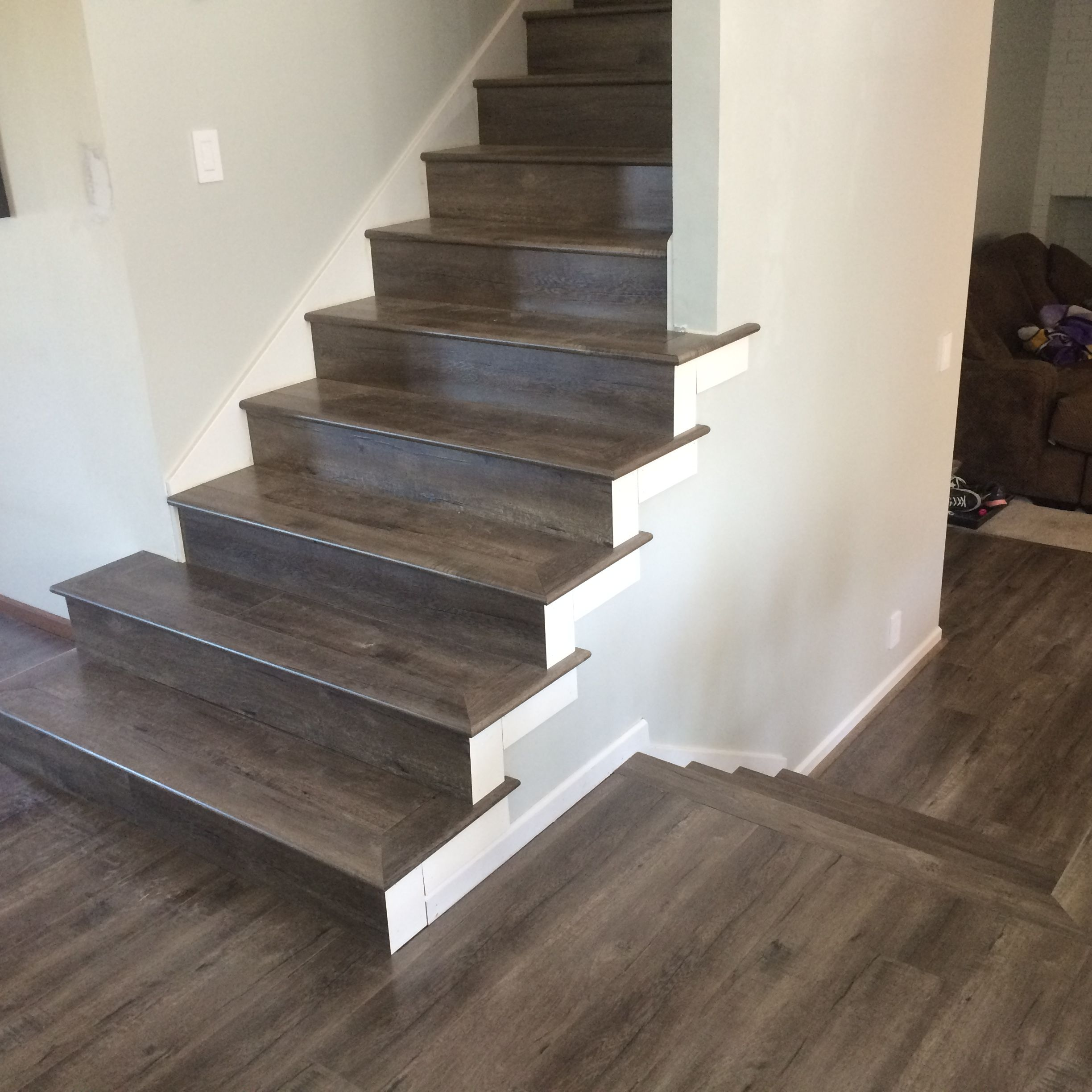 Tap Go Laminate Flooring Full Stairs Treads Laminate Stairs Stair Installation Stairs