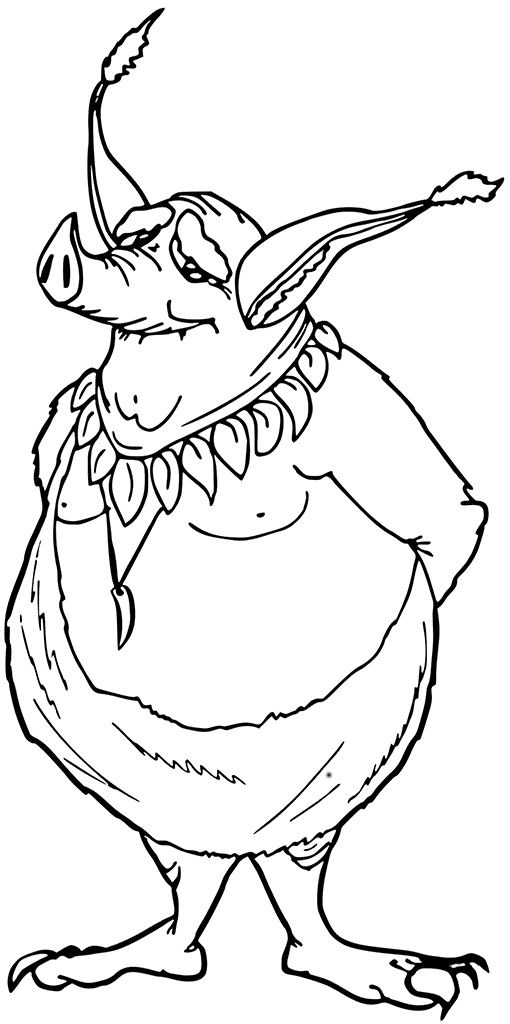 Goblin Coloring Pages Best Coloring Pages For Kids Coloring Pages Goblin Coloring Pages For Kids