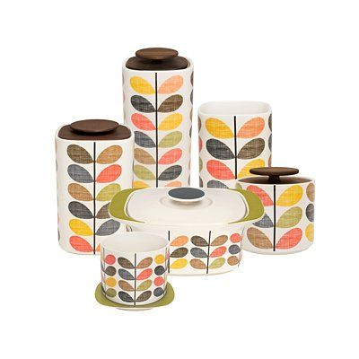 [Orla Kiely] Multi Stem Storage Jar   Small £23.00 Http://