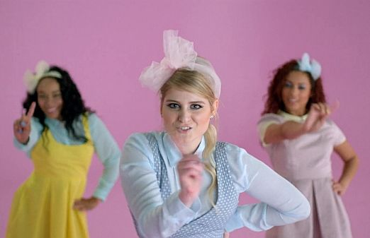 "Meghan Trainor's ""All About That Bass"" Video: Idolator Premiere"