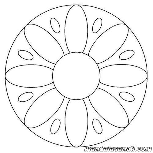 Kolay Mandala Ornekleri Yeni Baslayanlar Icin Mandala Boyama
