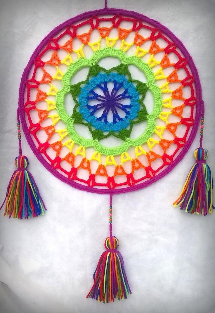 Resultado de imagen para mandalas tejidos al crochet patrones ...