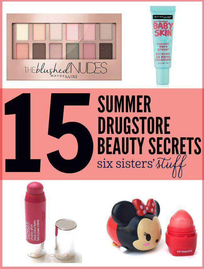 15 Summer Drugstore Beauty Secret #beautysecrets